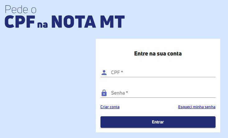 NotaMT Login - Você conhece o Programa Nota MT? Saiba como participar e concorrer até R$ 50 mil!